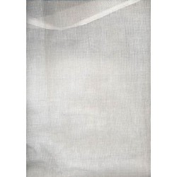 cotton organdy micro check stiff finish-3 mm x 3 mm size