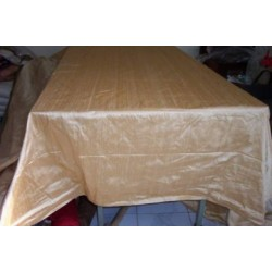 silk dupioni table covers