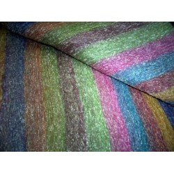 "SHEER ""CRINKLED""RAINBOW COLOUR TISSUE SILK 30"""