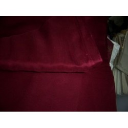 red wine silk chiffon fabric 44""