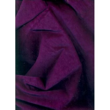 "100% cotton Velvet fabric 44""~ultramarine violet"