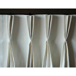 Triple Pinch Pleat Valance