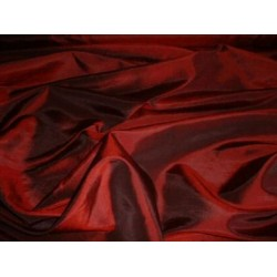 BLOOD RED SILK TAFFETA FABRIC 54 inch wide taf#44