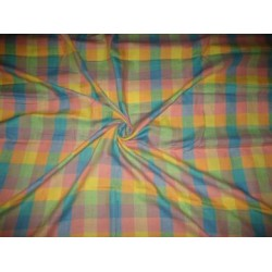 Multi Colour Plaids~Chambray Linen~58