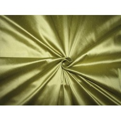 "100% PURE SILK DUPIONI  RICH RAPIER LOOM QUALITY OLIVE FABRIC 54""DUP268[4]"