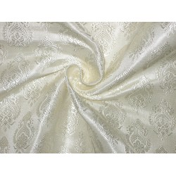 Pretty Silk Broacde Fabric available in 3 colours   ivory /pink/baby pink and baby blue