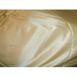 pale gold color cotton 45%  silk 55% satin  fabric- 32 momme*/137 cms wide/54""