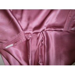"Silk Satin fabric 54""wide-26 mm~misty mauve pink"