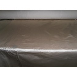"53 momme sand beige  Polyester Duchess Satin - Majestic 54"" wide"