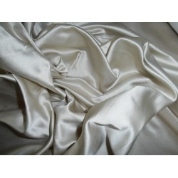 "Rayon Satin FABRIC 44""-natural colour"