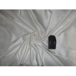 """33 momme silk  reversible satin fabric pearl white/medium ivory 44"""" wide"""