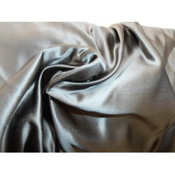 66 MOMME SILK DUTCHESS SATIN FABRIC dark oak color 54""