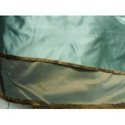 "SILK DUTCHESS dusty green X dusty khakhi 120""INCHES WIDE"
