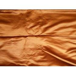 "66 MOMME SILK DUTCHESS SATIN FABRIC Tigers eye  color 54""**"
