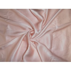 "33 momme silk  reversible satin charmeuse fabric  peach 44"" wide"