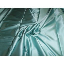 "Silk satin with lycra/spandex 44"" wide~ pastel green"