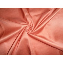 dark peach  color cotton 60%  silk 40%  fabric- 70 momme*/137 cms wide/54""