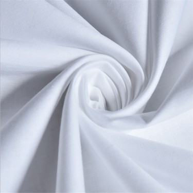 Plain White Micro Sheeting Fabrics 234 cms inches wide / 92 inch wide