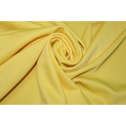 "100% Polyester scuba Fabric 59"" wide- DOBBY DESIGN -YELLOW"