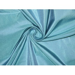 100% Pure SILK TAFFETA FABRIC Winter Sea Bluetaf37[2]