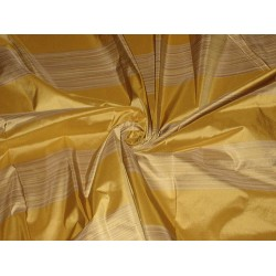 "100% SILK TAFFETA FABRIC multi colour horizontal stripes TAF#S56  54"" wide sold by the yard"