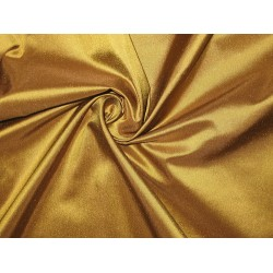 "Pure SILK TAFFETA FABRIC Bronze with Brown Shot color  54"" wide sold by the yard"