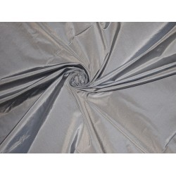 "SILK TAFFETA FABRIC Powder Blue colour irridescent 54""TAF205"