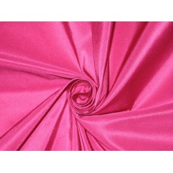 "Silk Taffeta fabric~Shocking Hot Pink TAF177[1] -60"" wide sold by the yard"