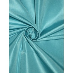 "Silk Taffeta fabric~ 54""~Clear Ocean Blue TAF178[2]"