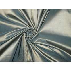 Pure SILK TAFFETA FABRIC Sea Green with Light Gold ShotTAF33