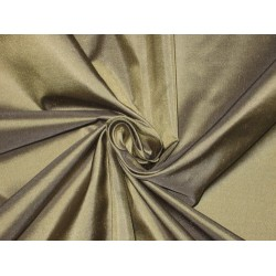 100% Pure SILK TAFFETA FABRIC Dusky Green color
