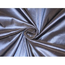 100% Pure SILK TAFFETA FABRIC Ink Blue 60""