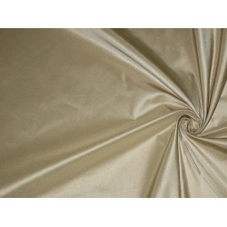 100% Pure SILK TAFFETA FABRIC Cafe Creme color
