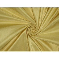 100% Pure SILK TAFFETA FABRIC Butter Gold