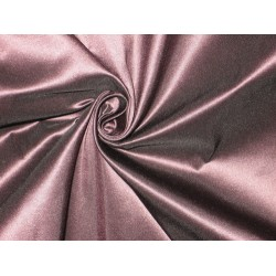 Pure SILK TAFFETA FABRIC Aubergine Brown with pink shot TAF 95