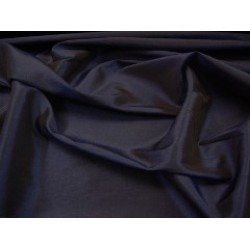 silk  TAFFETA FABRIC -dark navy  blue