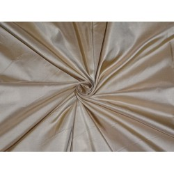 100% Pure SILK TAFFETA FABRIC dina beige gold TAF235 54 inches wide by the yard