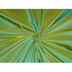 silk taffeta iridescent green/yellow~princess*TAF214[1]