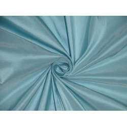 "Light Blue SILK TAFFETA FABRIC 54"" wide"