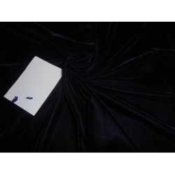 "navy dark blue Micro Velvet Fabric 44"" wide"