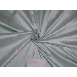 "100% Pure Silk Dupioni Fabric 54"" Mint Green Color Slubs"