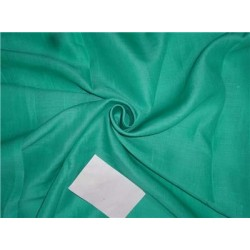 Green Color Linen Fabric 58""