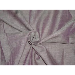 Two Tone Purple x Ivory Color Linen Fabric 54""