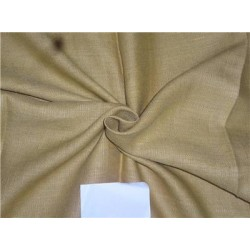 "Heavy Linen Camel Color Fabric 58"" Cut Length of 1.60 yards"