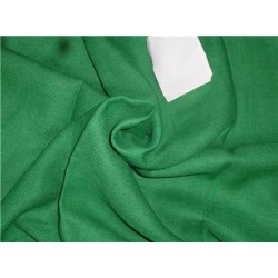 "Heavy Linen Green Color Fabric 58"" Cut Length of 2.50 yards"