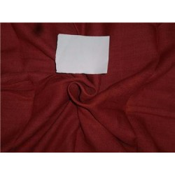 """Heavy Linen Brick Red Color Fabric 58"""" Cut Length of 2 yards"""