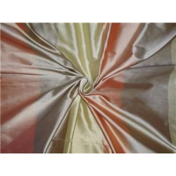 Silk Dupioni Fabric Multi Color Cut Length 2.55yard