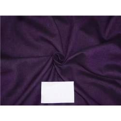 "Two Tone Linen 25% COTTON, 75% LINEN Aubergine x Black Color 58""inches"