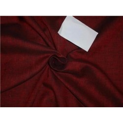"Two Tone Linen 25% COTTON, 75% LINEN Red x Black Color 58""inches"