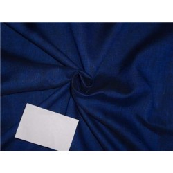 Two Tone Linen 25% COTTON,75% Linen Electric Blue x Black Color 58""